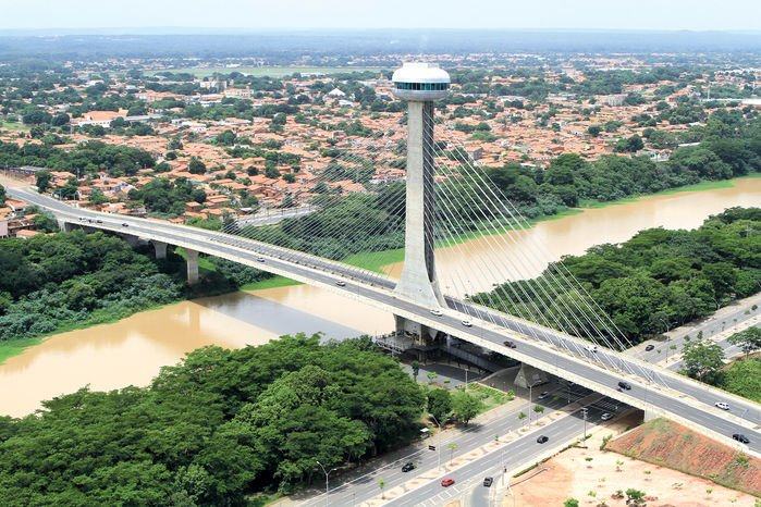 Ponte Estaiada em Teresina