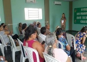 CRAS comemora Dia Internacional da Mulher com idosos