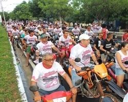 Município realiza um dos maiores moto passeio da região