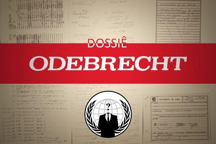 Anonymous publica mais documentos sigilosos da Odebrecht (Crédito: Reprodução/ Facebook )