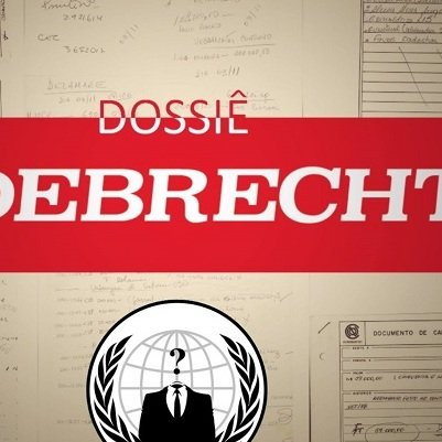 Anonymous publica mais documentos sigilosos da Odebrecht