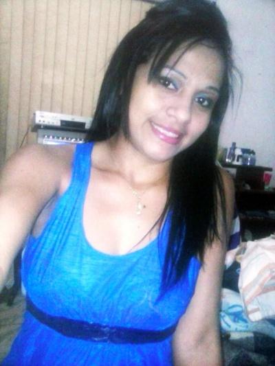 Francisca Andréia da Silva foi baleada no peito  (Crédito: Arquivo Pessoal )