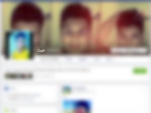Acusada griou perfil fake no Facebook  (Crédito: Reprodução )