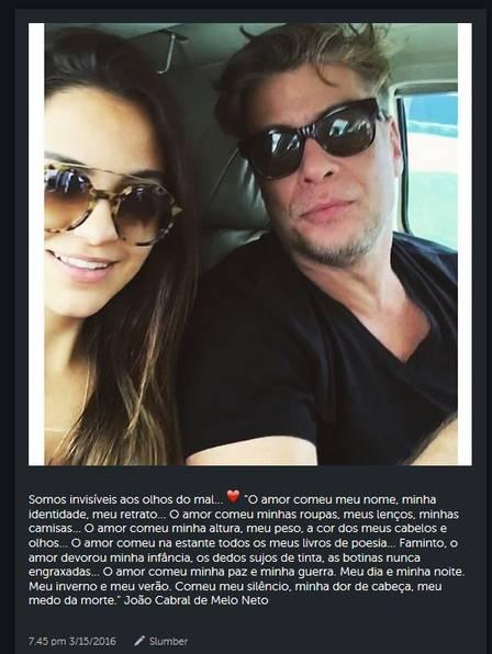 Fábio Assunção terminou namoro (Crédito: Reprodução/ Instagram )