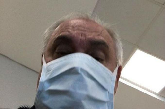 Marcelo Rezende está com H1N1