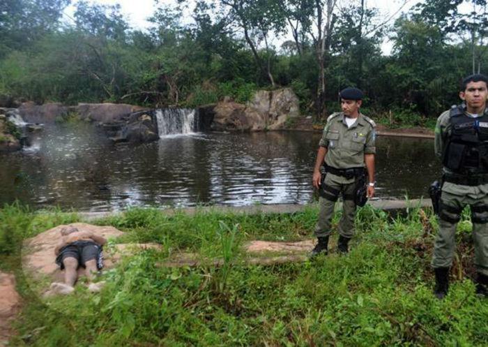 Jovem morre afogado em Piripiri (Crédito: Divulgação)