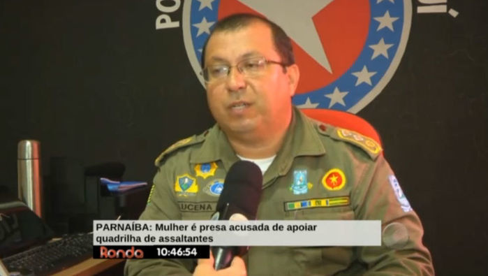 Major Adriano de Lucena, comandante do 2º BPM de Parnaíba