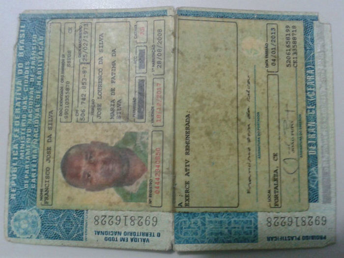 Documentos falsos encontrados
