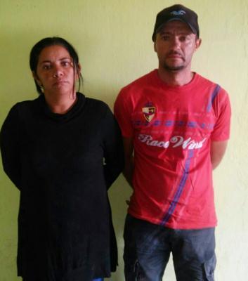 Maria de Lourdes e Francisco de Souza estão presos