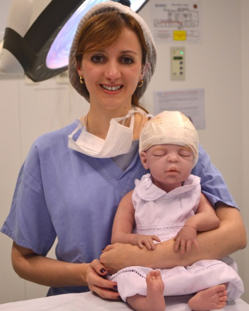 O projeto auxilia no treinamento de novos neurocirurgiões (Crédito: Reprodução)
