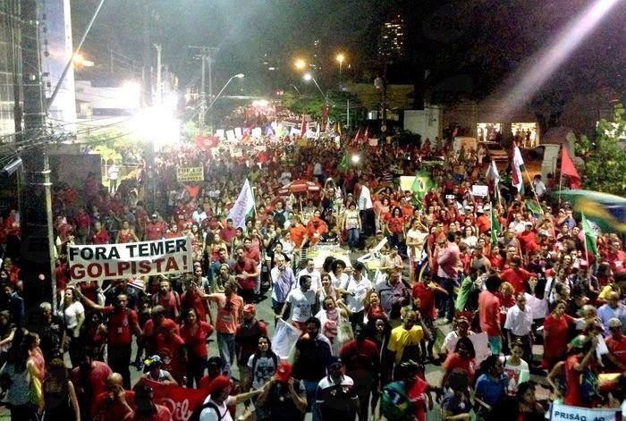 Ato em Recife (Crédito: Divulgação)