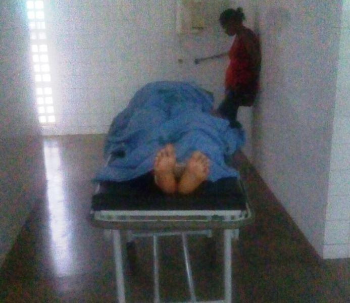 Corpo da vítima Maria dos Remédios