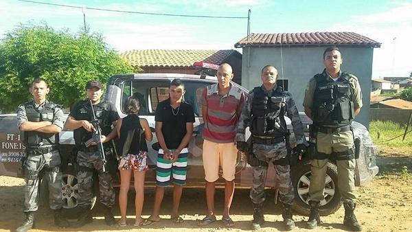 Acusados foram presos