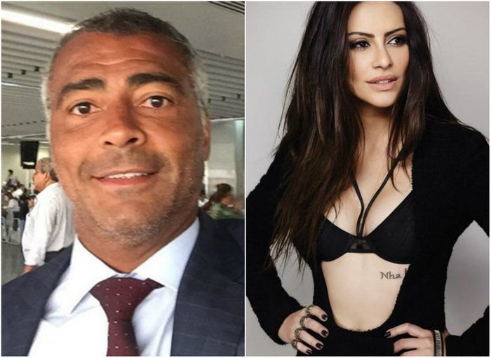 Romário responde declaração de Cléo Pires: 'Estou solteiro' (Crédito: Reprodução)