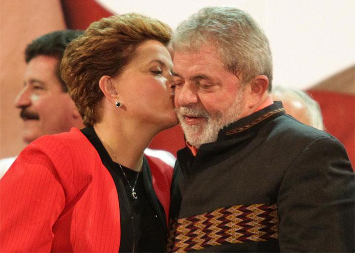 Lula e Dilma (Crédito: Dilma)