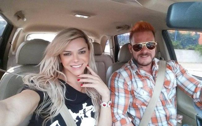 Léo Áquilla e o noivo