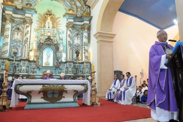 Missa ocorreu em Parnaíba