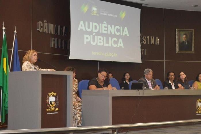 Audiência Pública na Câmara Municipal