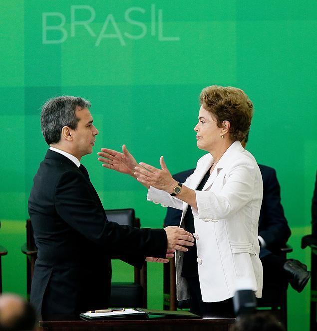 Wellington César Lima e Silva e Dilma (Crédito: Divulgação)