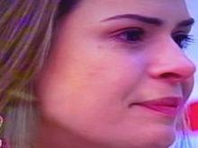 Ana Paula, do BBB 16, se emociona ao participar do 'Mais Você'