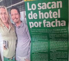 Baterista do Iron Maiden é confundido com mendigo no México