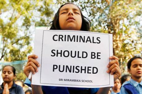 Protestos pedia mais proteção para mulheres na Índia
