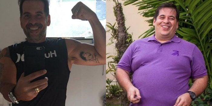 Leandro Hassum perdeu quase 60 kg