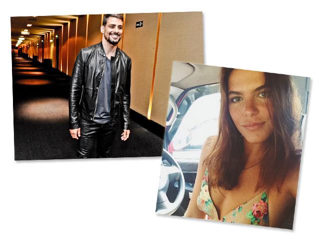 Cauã Reymond e Mariana Goldfarb: tá rolando!