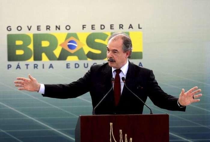 O ministro da Educação, Aloizio Mercadante