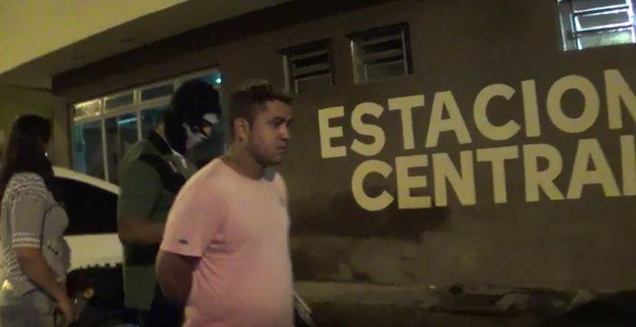 Casal foi preso acusado de tráfico (Crédito: Reprodução/TV Meio Norte)
