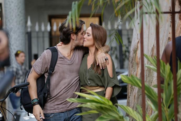 Rafael e Lili (Crédito: Reprodução)