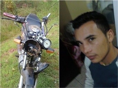 Acidente de moto deixa jovem gravemente ferido em Santa Rosa