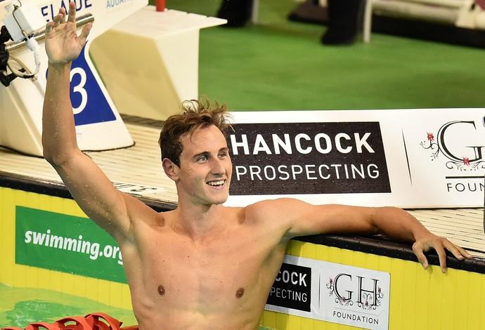 Cameron McEvoy faz melhor tempo do ano na Austrália  (Crédito: Getty)