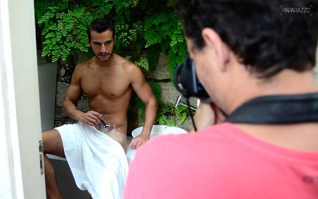 Matheus no Paparazzo  (Crédito: Roberto Teixeira)