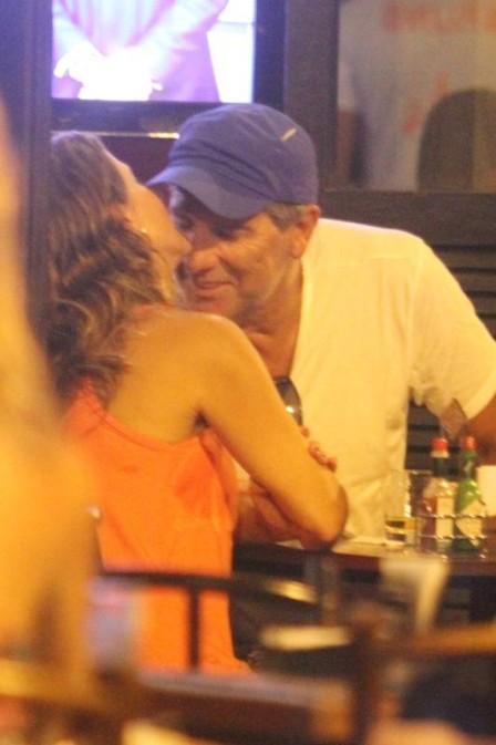 Renato Gaúcho e amiga (Crédito: Reprodução)