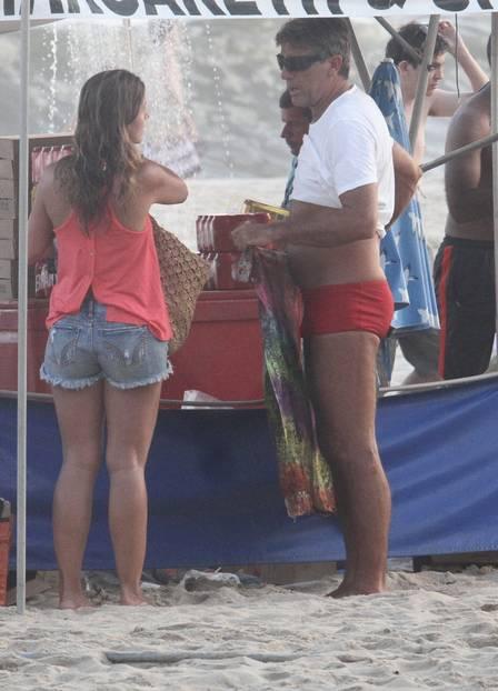 Renato Gaúcho e publicitária (Crédito: Reprodução)