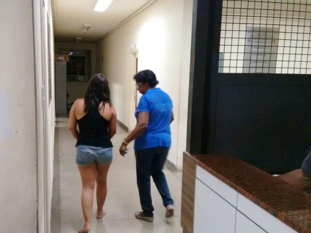 A promotora foi presa em flagrante (Crédito: Divulgação)