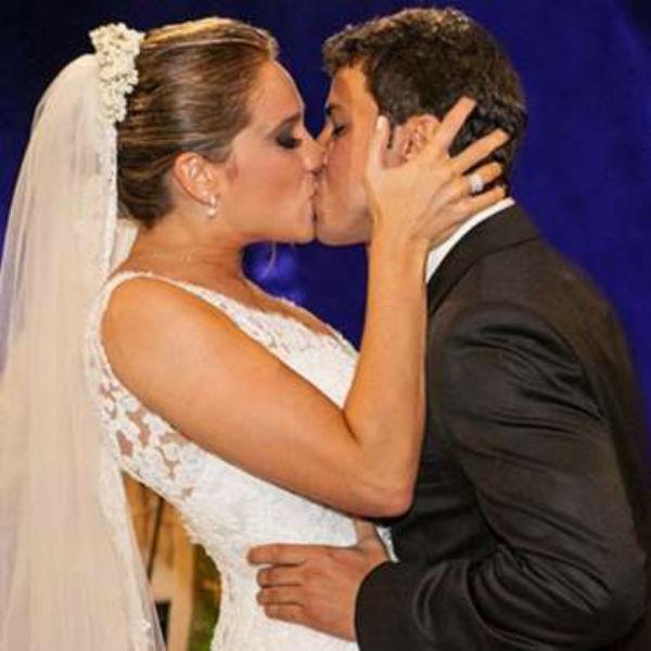 Fernanda Gentil e Ex-Marido (Crédito: Divulgação )