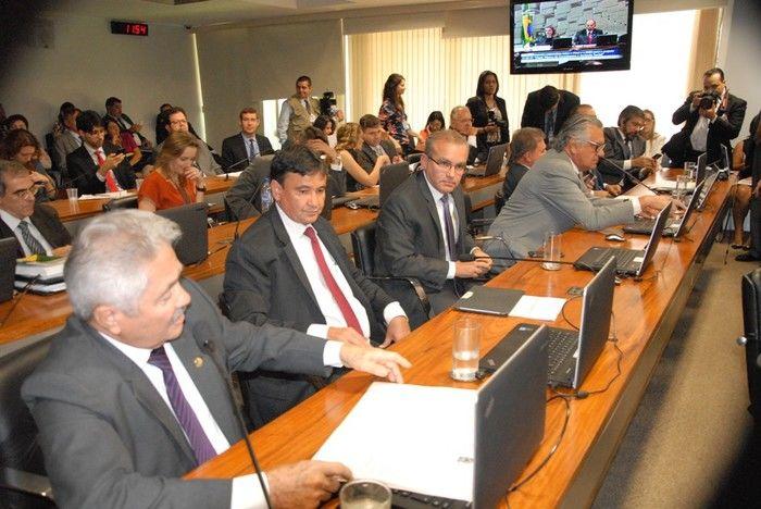 Governador e Prefeito de Teresina foram à reunião (Crédito: Floriano Rios)