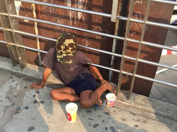 Lei proíbe esmolas nas ruas da Tailândia (Crédito: Reprodução)