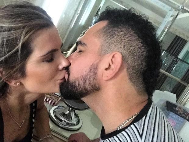 Luciano e esposa  (Crédito:  Reprodução / Instagram)