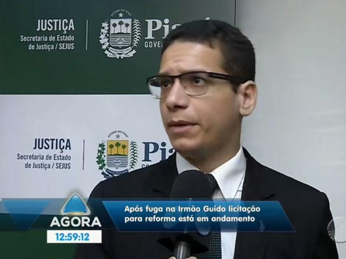 Daniel Oliveira  (Crédito: Reprodução TV Meio Norte)