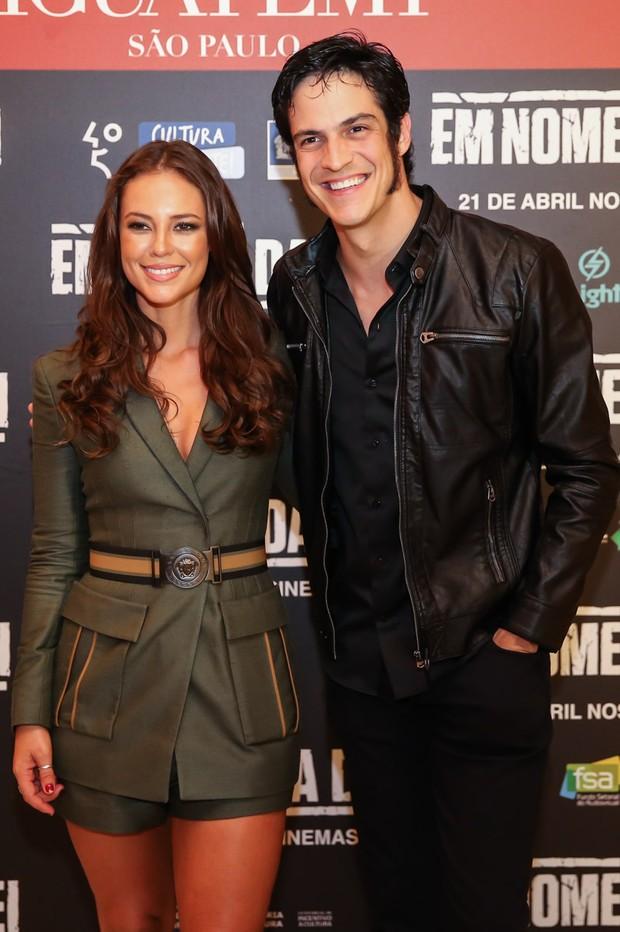 Paolla Oliveira e Mateus Solano (Crédito: Manuela Scarpa/Brazil News)