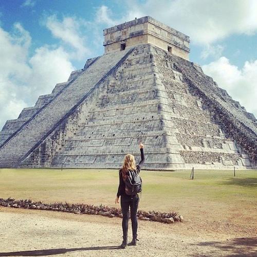 A cidade de Itza, no México