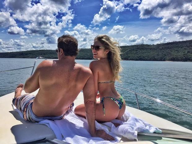 Renatinha com seu namorado (Crédito: Reprodução/ Instagram)