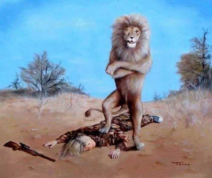 Caça e caçador (Crédito: Reprodução)