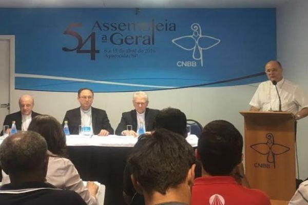 Assembleia Geral da CNBB (Crédito: G1)