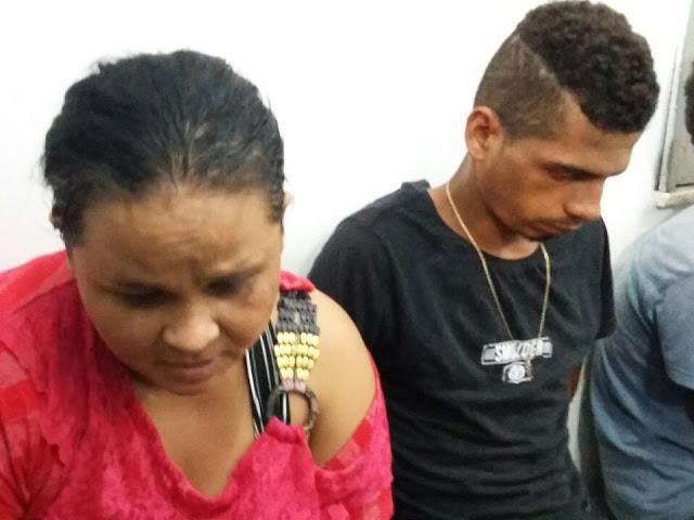 Casal preso (Crédito: Divulgação)