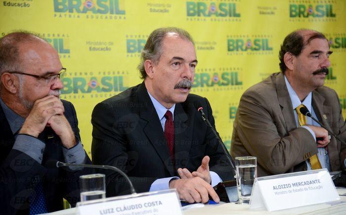 Ministro Aloizio Mercadante fala sobre Enem 2016 (Crédito: Agência Brasil )