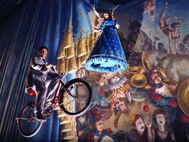 Cena do espetáculo 'Corteo', do Cirque du Soleil (Crédito: Divulgação)